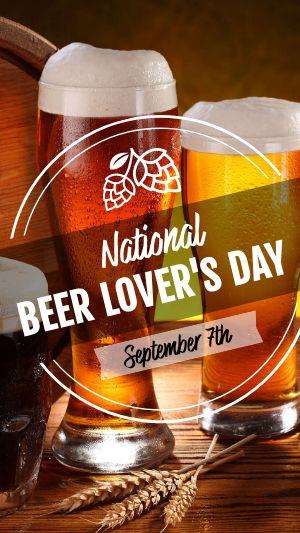 Beer Lovers Instagram Story