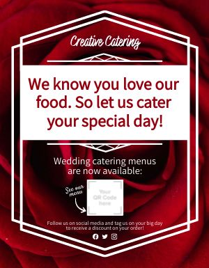 Event Catering Announcement