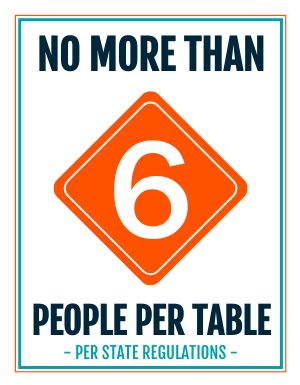 Limit Table Sign
