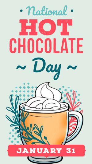 Hot Chocolate Facebook Story