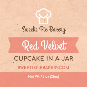 Cupcake Product Label