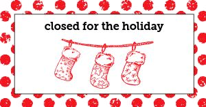 Closed for Christmas Facebook Post