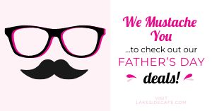 Fathers Day Deals Facebook Post