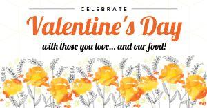 Celebrate Valentines Facebook Post