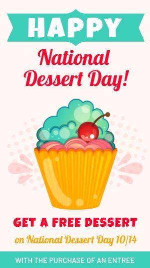Dessert Day Facebook Story