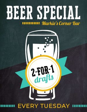 Beer Specials Flyer