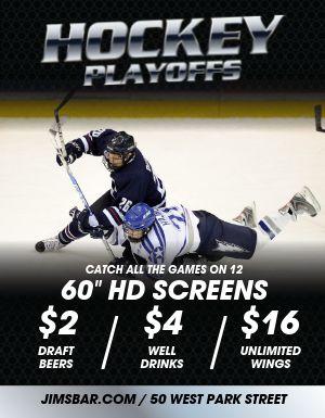 Hockey Playoffs Flyer
