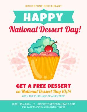 Dessert Day Flyer