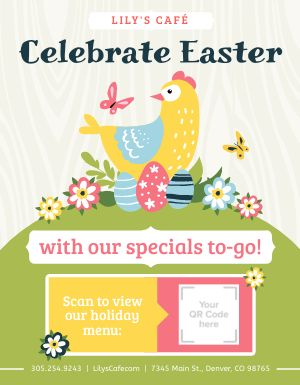 Easter Takeout Flyer
