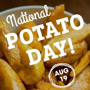 Potato Instagram Post