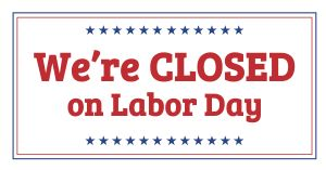 Labor Day FB Update