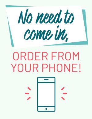 Mobile Order Flyer