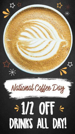 National Coffee Day Instagram Story