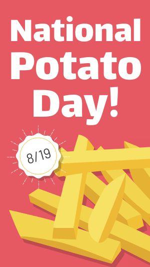 Potato Instagram Story