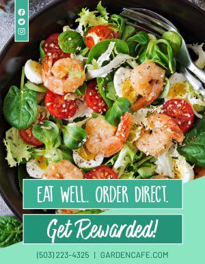 Order Salad Flyer