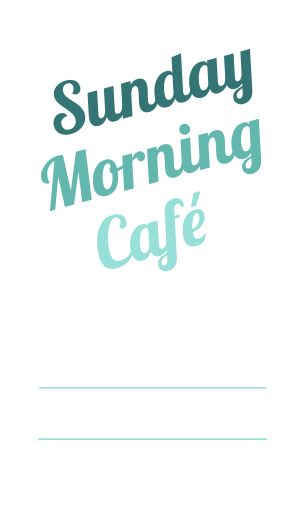 Cafe Logo Label