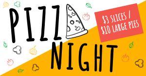 Pizza Night FB Update