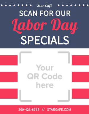 Labor Day Holiday Sign