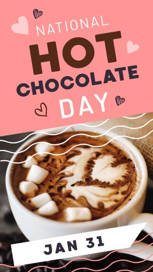 Hot Cocoa Facebook Story