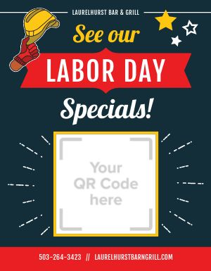 Labor Day Specials Flyer