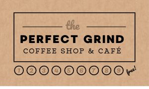 Coffee Customer Card