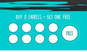 Entree Loyalty Card