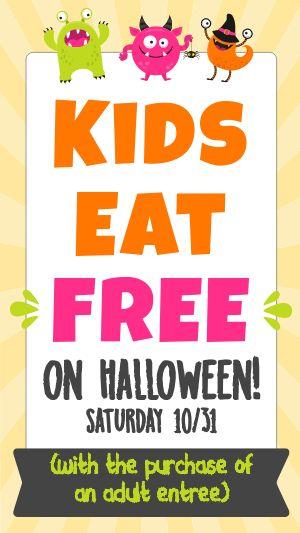 Halloween Kids Facebook Story