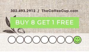 Coffee Discount Card
