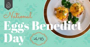 Eggs Benedict Facebook Update