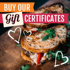 Sandwich Gift Certificate Instagram Post