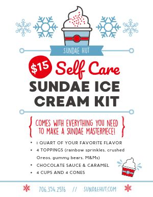 Ice Cream Kit Flyer