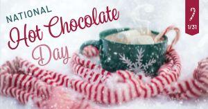 Hot Chocolate Facebook Post