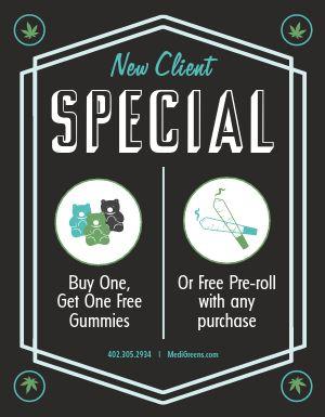 Dispensary Deal Sign