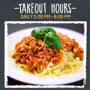 Takeout Operation Hours Instagram Post