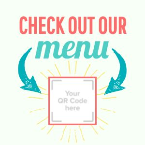Menu Sticker