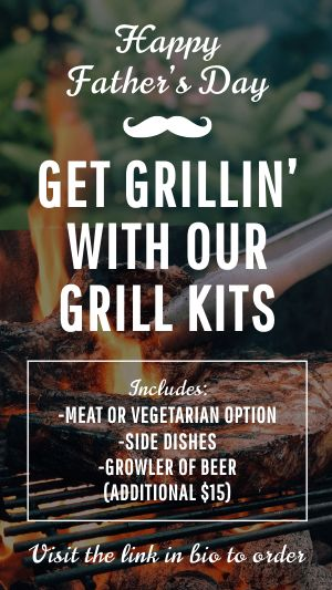 Fathers Day Grilling Instagram Story