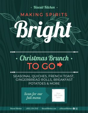 Christmas Brunch Sign