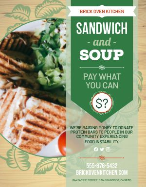 Sandwich Pay Sign