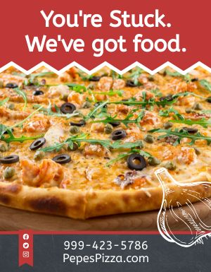 Pizza Takeout Flyer