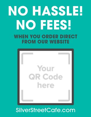 Direct Online Orders Sign