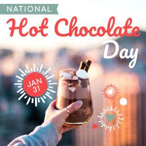 Hot Cocoa Instagram Post