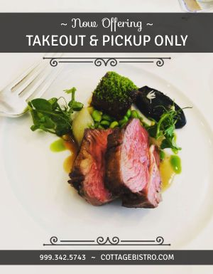 Steak Takeout Flyer