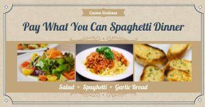 Spaghetti Facebook Post