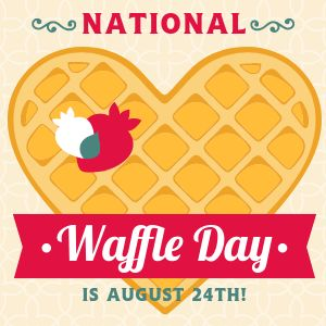 Waffle Day Instagram Post