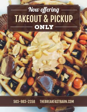 Breakfast Takeout Flyer