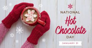 Hot Cocoa Facebook Post