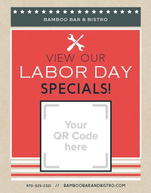 Labor Day Holiday Flyer