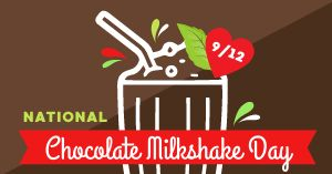 Chocolate Milkshake Facebook Post