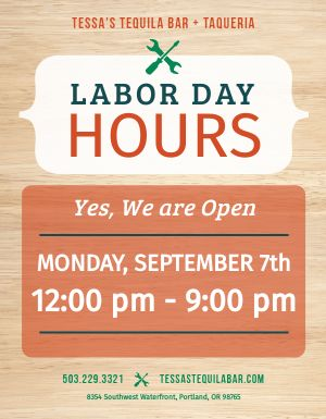Labor Day Leaflet
