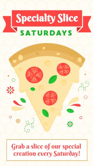 Specialty Pizza Instagram Story